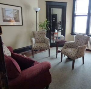 Kitchener-Waterloo psychologist Dr. Val Daigen's office is located at 15 Schneider Ave.