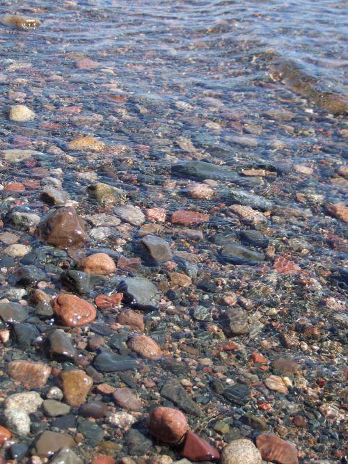 wet rocks by Val Daigen